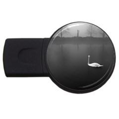 swan 1Gb USB Flash Drive (Round)