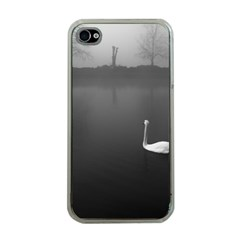 swan Apple iPhone 4 Case (Clear)