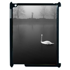 swan Apple iPad 2 Case (Black)