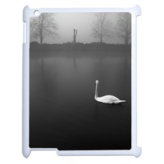swan Apple iPad 2 Case (White)