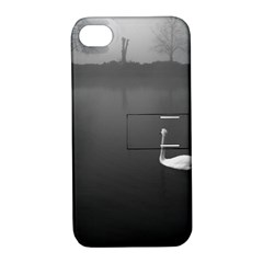 swan Apple iPhone 4/4S Hardshell Case with Stand