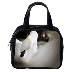 swan Single-sided Satchel Handbag