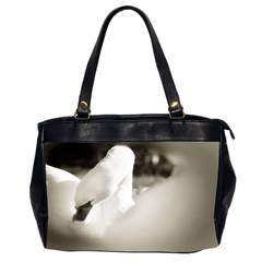 swan Twin-sided Oversized Handbag