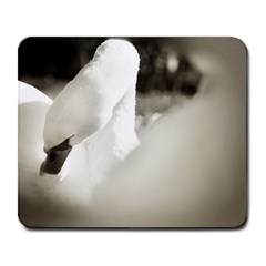 Swan Large Mouse Pad (rectangle)