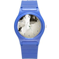 swan Round Plastic Sport Watch Small