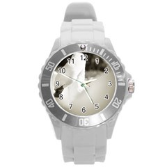 Swan Round Plastic Sport Watch Large