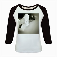swan Long Sleeve Raglan Womens'' T-shirt