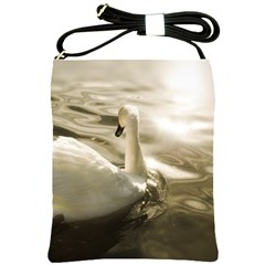 swan Cross Shoulder Sling Bag