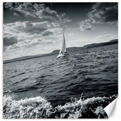 Sailing 12  X 12  Unframed Canvas Print