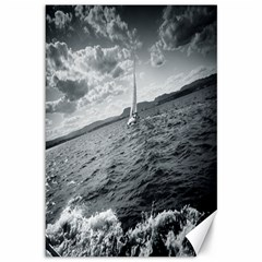 sailing 12  x 18  Unframed Canvas Print