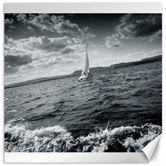 sailing 20  x 20  Unframed Canvas Print