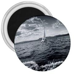Sailing Large Magnet (round)