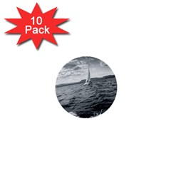 sailing 10 Pack Mini Button (Round)