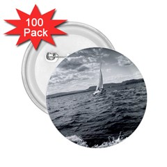sailing 100 Pack Regular Button (Round)