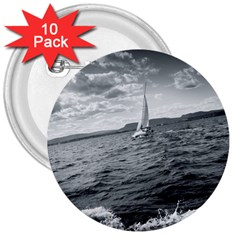 sailing 10 Pack Large Button (Round)
