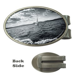 Sailing Money Clip (oval)