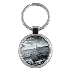 sailing Key Chain (Round)