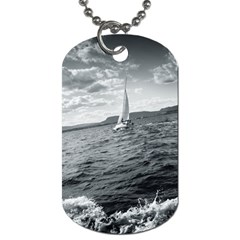 Sailing Twin Sided Dog Tag