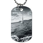 sailing Twin-sided Dog Tag Front