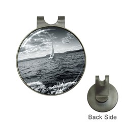 Sailing Hat Clip With Golf Ball Marker