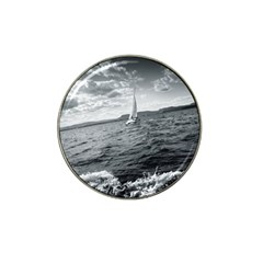 sailing Golf Ball Marker (for Hat Clip)