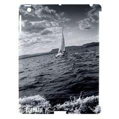 sailing Apple iPad 3/4 Hardshell Case (Compatible with Smart Cover)