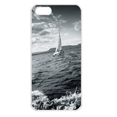 Sailing Apple Iphone 5 Seamless Case (white)