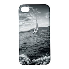 sailing Apple iPhone 4/4S Hardshell Case with Stand