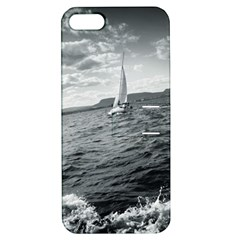 sailing Apple iPhone 5 Hardshell Case with Stand