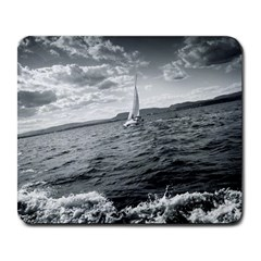 Sailing Large Mouse Pad (rectangle)