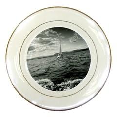 sailing Porcelain Display Plate