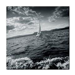 sailing Face Towel