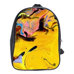 Copper Wave1a Large School Backpack