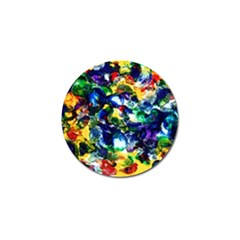 Colors 4 Pack Golf Ball Marker