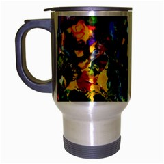 Colors Brushed Chrome Travel Mug