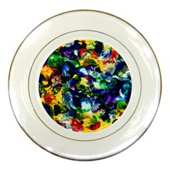 Colors Porcelain Display Plate