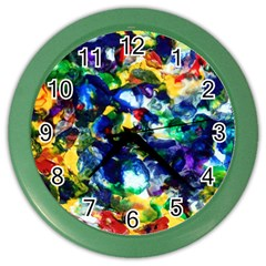 Colors Colored Wall Clock