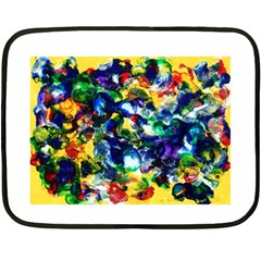 Colors Twin Sided Mini Fleece Blanket