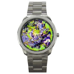 Being Green1a Stainless Steel Sports Watch (round)