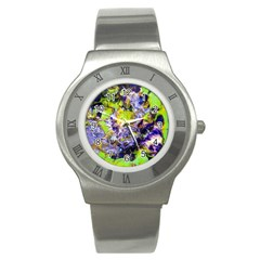 Being Green1a Stainless Steel Watch (round)