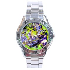 Being Green1a Stainless Steel Analogue Watch (Round)