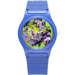 Being Green1a Round Plastic Sport Watch Small
