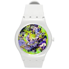 Being Green1a Round Plastic Sport Watch Medium