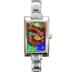 Culture Mix Classic Elegant Ladies Watch (Rectangle)
