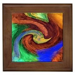 Culture Mix Framed Ceramic Tile
