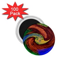 Culture Mix 100 Pack Small Magnet (Round)