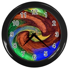 Culture Mix Black Wall Clock