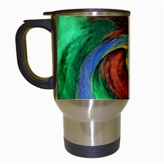 Culture Mix White Travel Mug