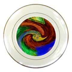 Culture Mix Porcelain Display Plate