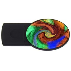 Culture Mix 4Gb USB Flash Drive (Oval)